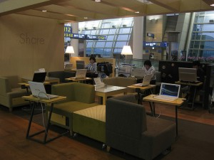 airport lounge public domain