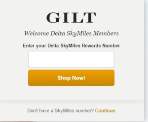 gilt groupe skymiles number