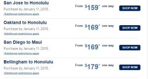 Hawaii Sale   Alaska Airlines