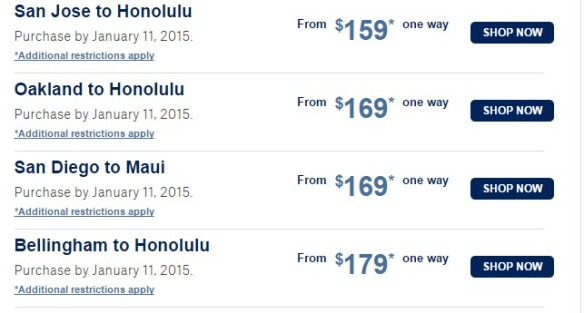 Hawaii Sale   Alaska Airlines