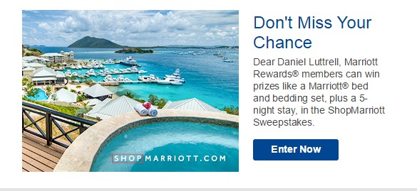 marriott contest